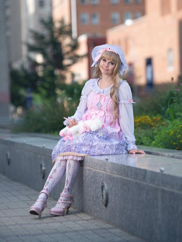 Maka's 「Lolita」themed photo (2018/06/12)