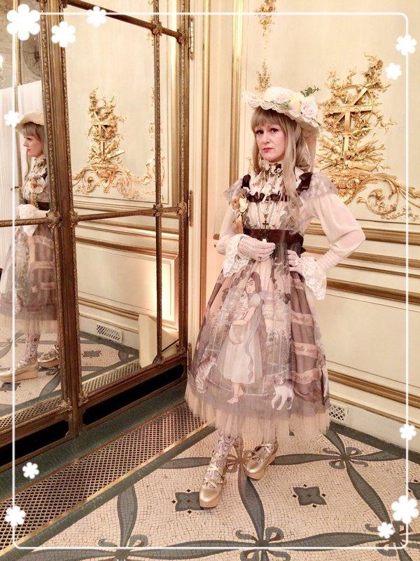 Violetnoirの「Lolita fashion」をテーマにしたコーディネート(2018/06/20)