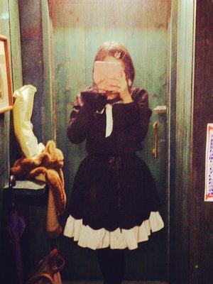 MIKI's 「ゴスロリ」themed photo (2017/02/01)