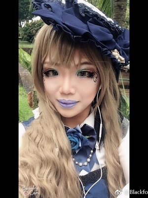 Rain Yuen's 「Lolita fashion」themed photo (2018/06/22)