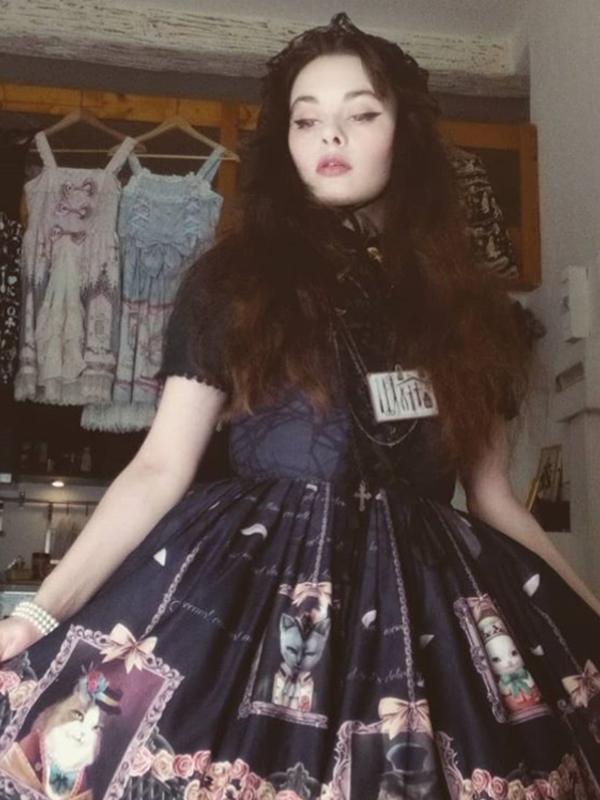 Bunny Tudorの「Lolita」をテーマにしたコーディネート(2018/06/22)