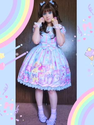 Pixy's 「Angelic pretty」themed photo (2018/06/23)