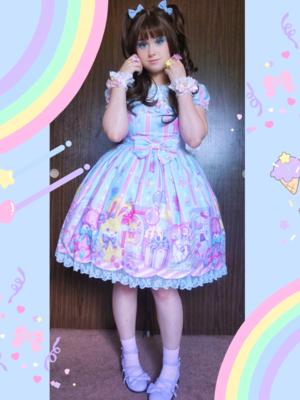 Pixyの「Angelic pretty」をテーマにしたコーディネート(2018/06/23)