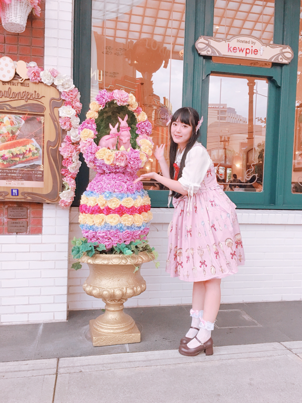 舞の「Sweet lolita」をテーマにしたコーディネート(2018/06/25)