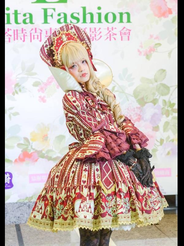 林南舒の「Lolita」をテーマにしたコーディネート(2018/06/27)