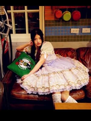 林南舒の「Angelic pretty」をテーマにしたコーディネート(2018/06/27)