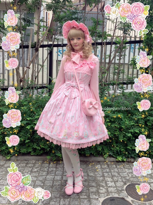 是bubblegumribbon以「Angelic pretty」为主题投稿的照片(2016/07/13)