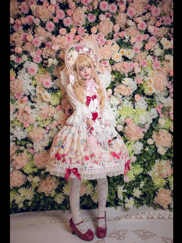 林南舒の「Lolita」をテーマにしたコーディネート(2018/06/28)