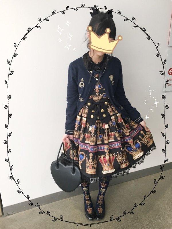 Kuroekoの「Angelic pretty」をテーマにしたコーディネート(2017/02/13)