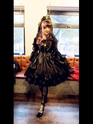 林南舒の「Angelic pretty」をテーマにしたコーディネート(2018/06/28)