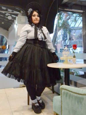 Bara No Hime's 「Lolita fashion」themed photo (2018/07/03)