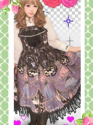 Corota's 「Angelic pretty」themed photo (2017/02/17)
