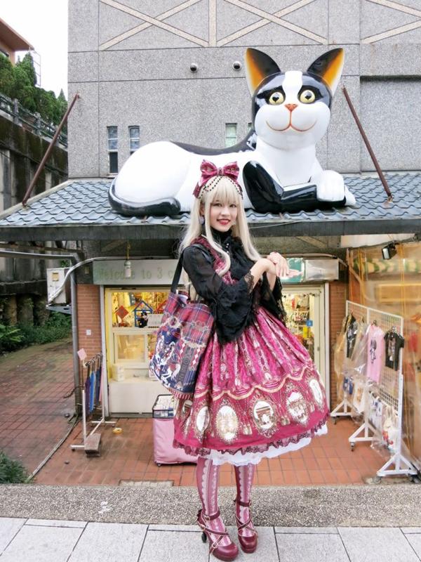林南舒の「Angelic pretty」をテーマにしたコーディネート(2018/07/03)