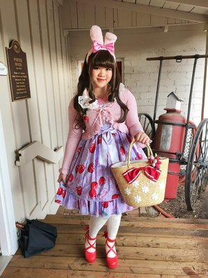 是Austine以「Angelic pretty」为主题投稿的照片(2017/02/20)