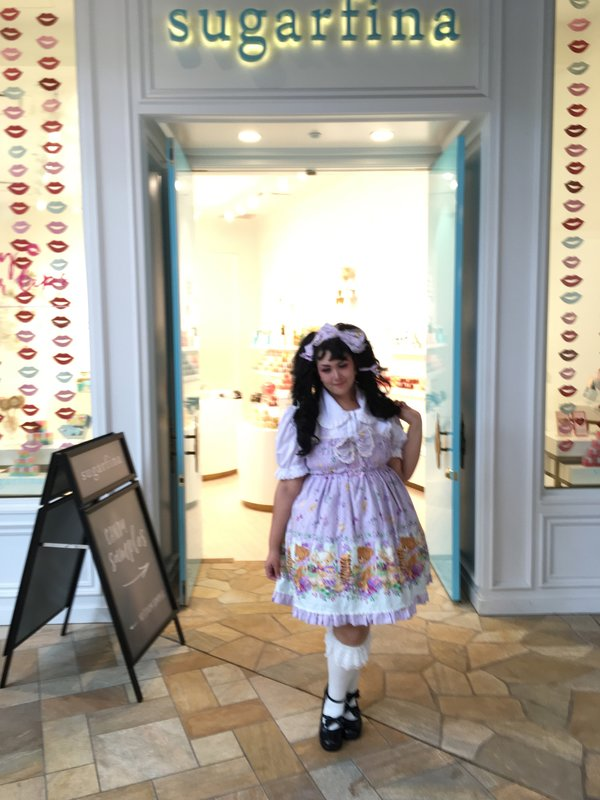 是Momona以「Sweet lolita」为主题投稿的照片(2017/02/20)