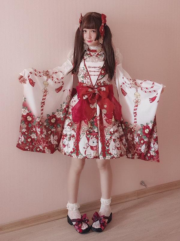 墨洁sheila's 「Lolita」themed photo (2018/07/06)