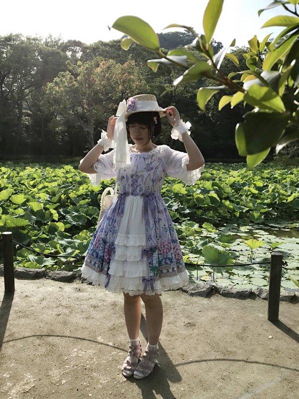 Mukkmitsuの「Angelic pretty」をテーマにしたコーディネート(2018/07/09)