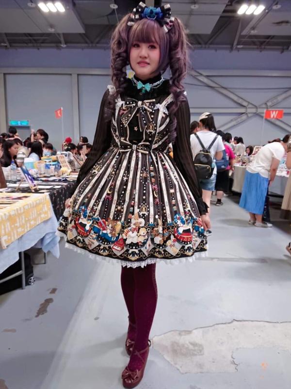 Kalilo Catの「Lolita」をテーマにしたコーディネート(2018/07/22)