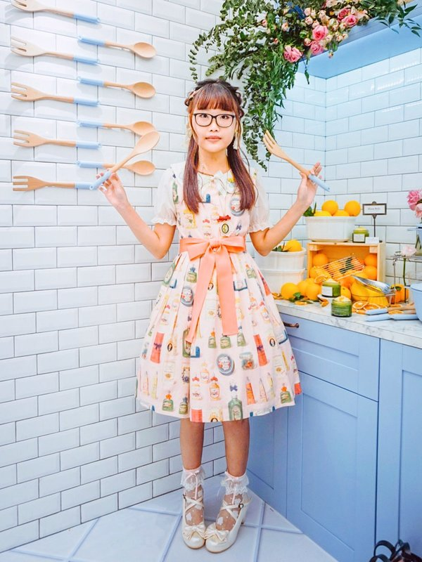 Riipin's 「Lolita fashion」themed photo (2018/07/22)
