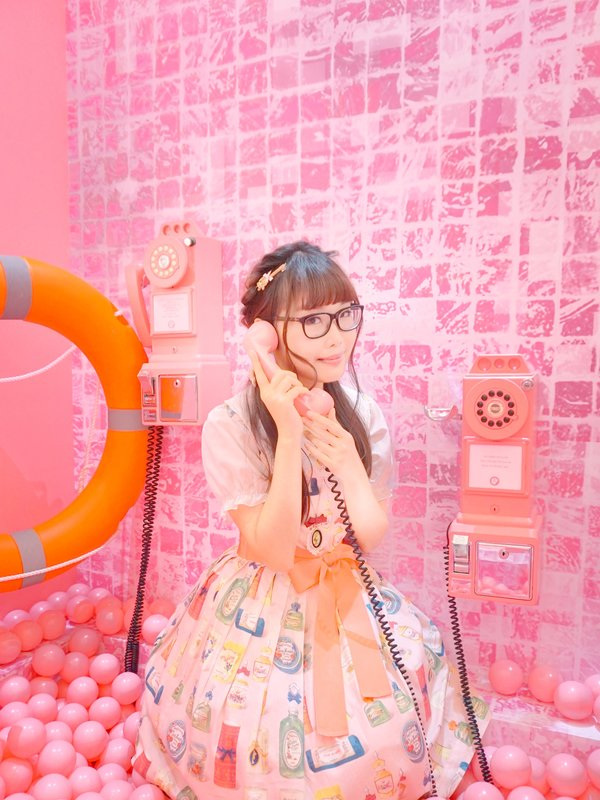 Riipin's 「Pink」themed photo (2018/07/24)