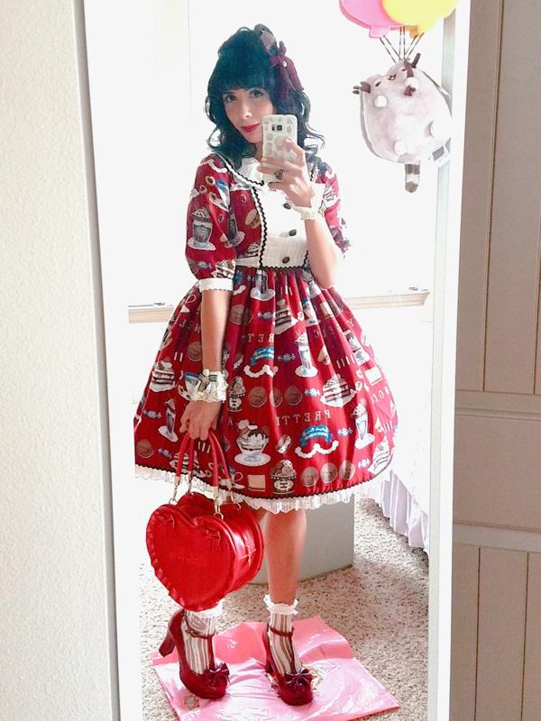 Eugenia Salinasの「Lolita fashion」をテーマにしたコーディネート(2018/07/29)