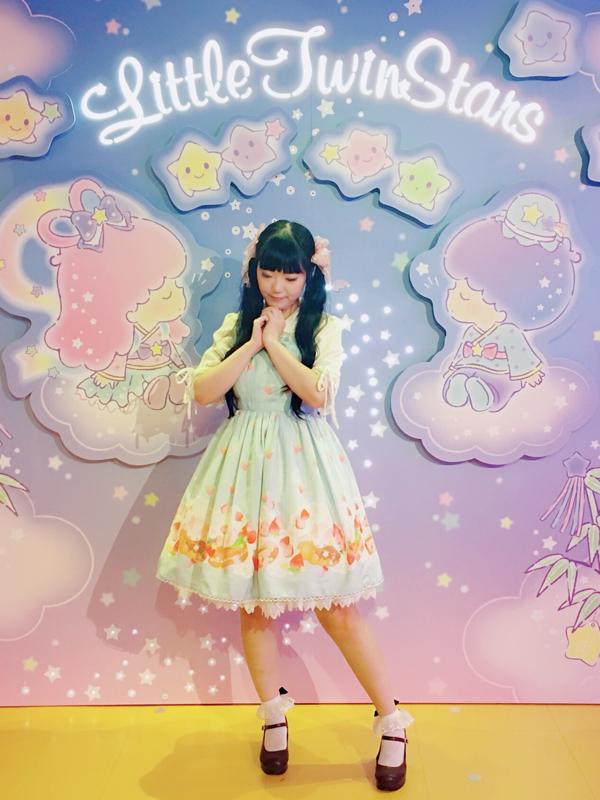 舞の「Sweet lolita」をテーマにしたコーディネート(2018/08/04)