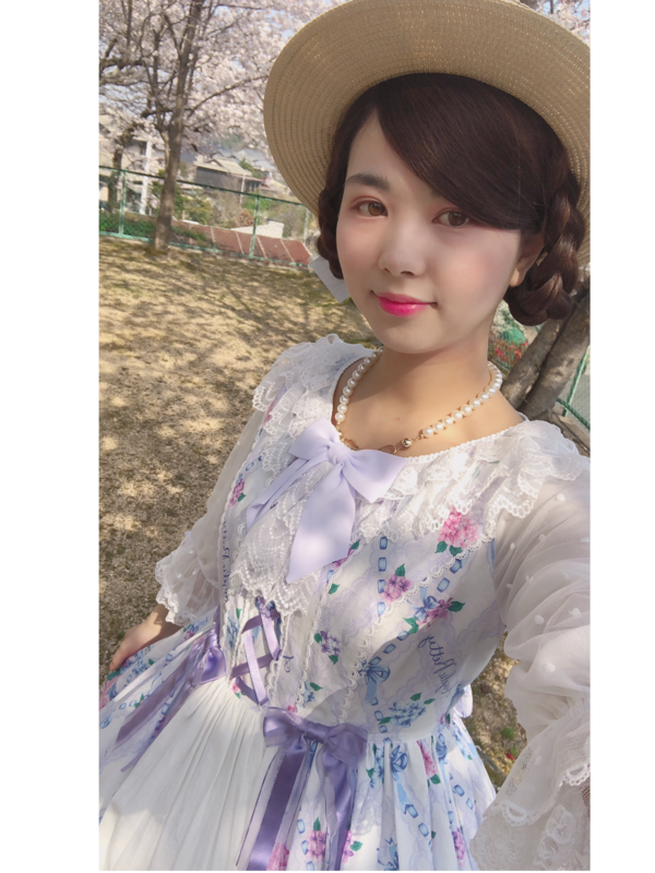 Saki's 「Angelic pretty」themed photo (2018/08/07)