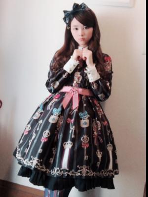 Sakiの「Lolita fashion」をテーマにしたコーディネート(2018/08/11)