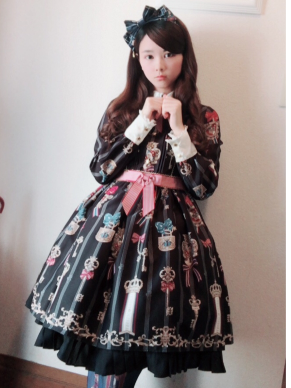 Saki's 「Lolita fashion」themed photo (2018/08/11)