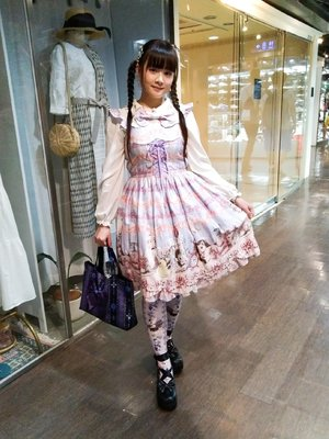 Sayuki's 「Lolita fashion」themed photo (2018/08/15)
