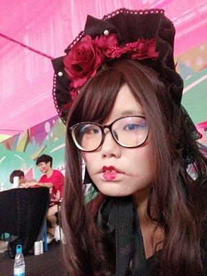 是沉迷于红茶和啵酱的风璃以「Lolita」为主题投稿的照片(2018/08/15)