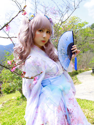 兔小璐's 「Blue」themed photo (2018/08/17)