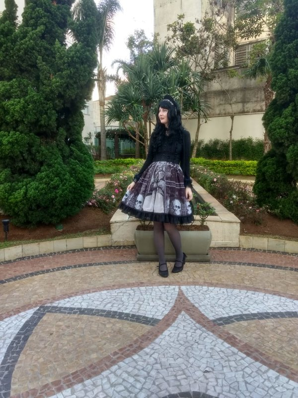 Annah Hel's 「Gothic Lolita」themed photo (2018/08/25)