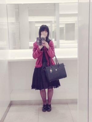 すみれの「アビエタージュ」をテーマにしたコーディネート(2017/03/21)