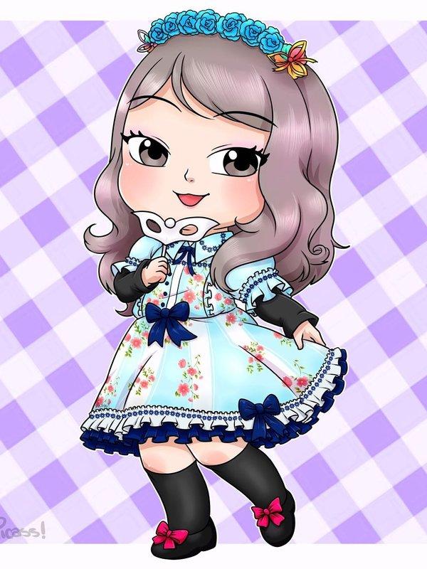 MerMajito's 「Lolita」themed photo (2018/08/30)