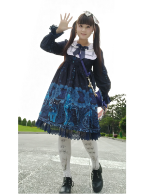 Sayuki's 「Lolita fashion」themed photo (2018/09/01)