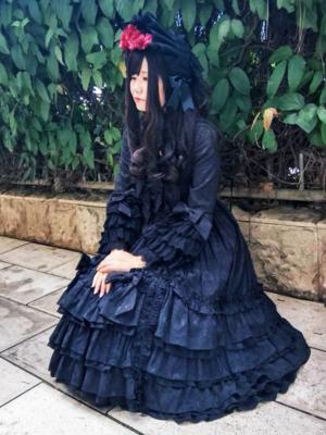 是沉迷于红茶和啵酱的风璃以「Lolita」为主题投稿的照片(2018/09/01)