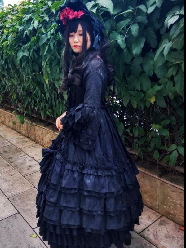 沉迷于红茶和啵酱的风璃の「Lolita」をテーマにしたコーディネート(2018/09/01)