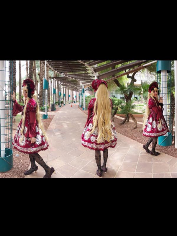 Candice Bear's 「Lolita fashion」themed photo (2018/09/07)