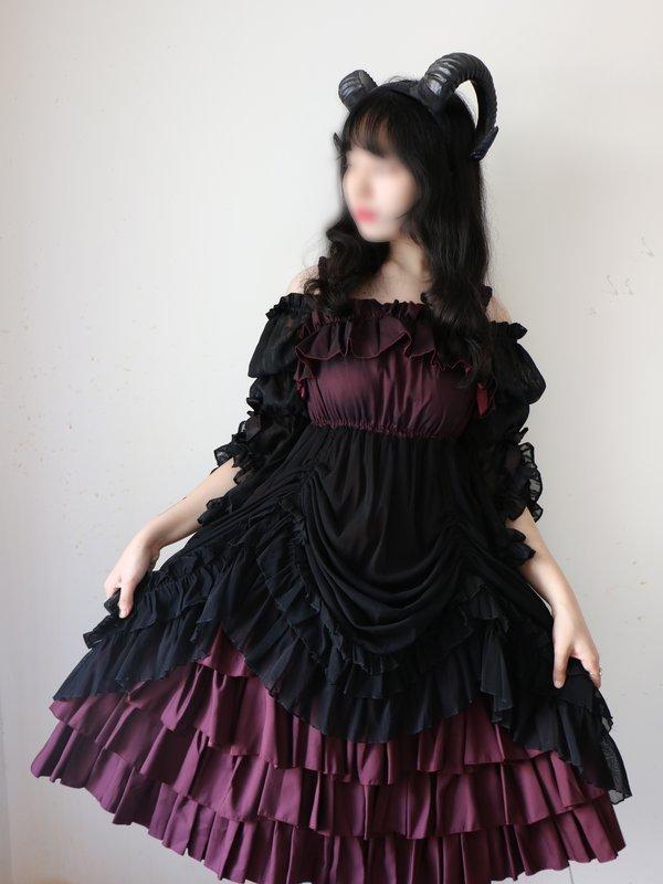 无知少女马花花の「Lolita」をテーマにしたコーディネート(2018/09/12)