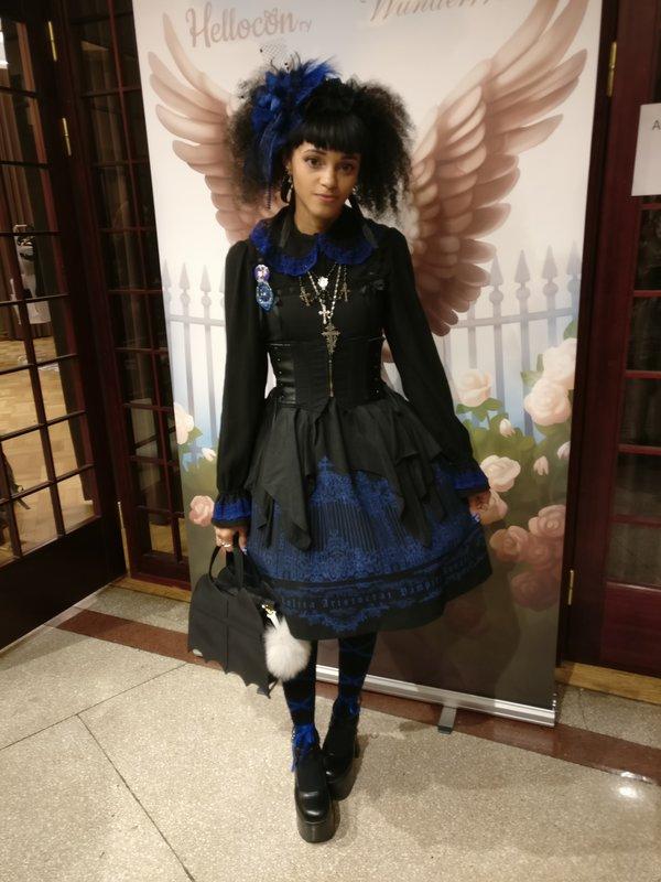 Rose Nocturnaliaの「Hellocon」をテーマにしたコーディネート(2018/09/16)