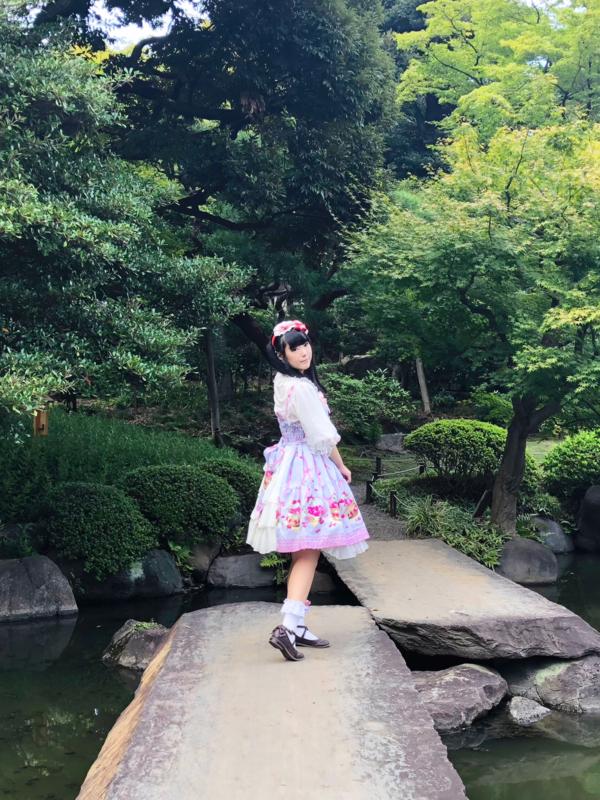舞の「Lolita fashion」をテーマにしたコーディネート(2018/09/20)