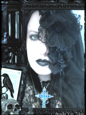 Angela†von†Tokyo's 「Gothic Lolita」themed photo (2018/09/21)