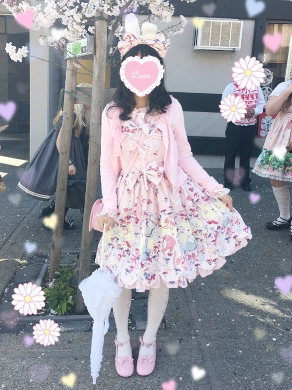 是Kuroeko以「Angelic pretty」为主题投稿的照片(2017/04/09)