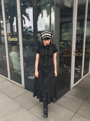 TiaraHime's 「Gothic Lolita」themed photo (2018/09/23)