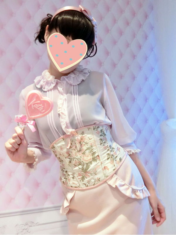 蜜蜂の「Angelic pretty」をテーマにしたコーディネート(2018/09/23)