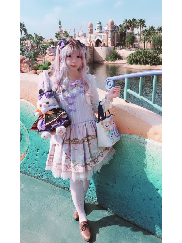 hime's 「Lolita」themed photo (2018/09/30)