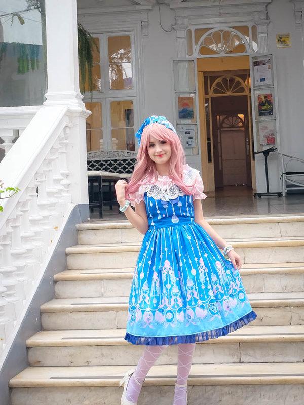 Lulaの「Lolita fashion」をテーマにしたコーディネート(2018/10/08)