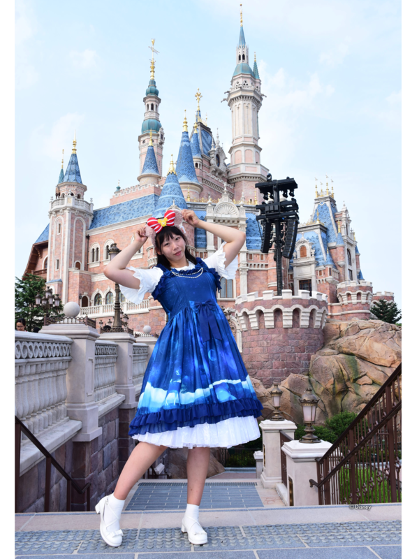 巨人阿雪の「Lolita」をテーマにしたコーディネート(2018/10/14)