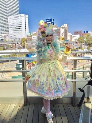 望月まりも☆ハニエルのファッションです。(2017/04/18)